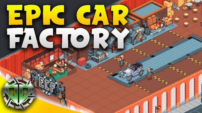 Idle Car Factory 12.7.6 Mod Apk (Unlimited Money) Latest Version Download