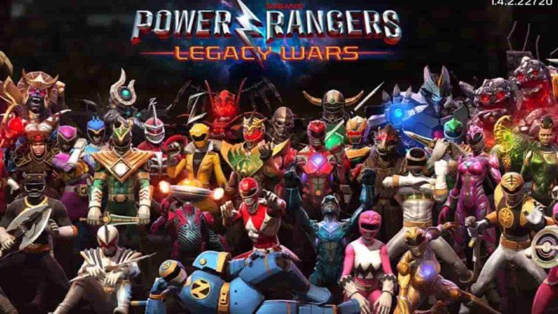 Power Rangers: Legacy Wars 2.7.0 Mod Apk (Unlimited Money) Latest Version Download