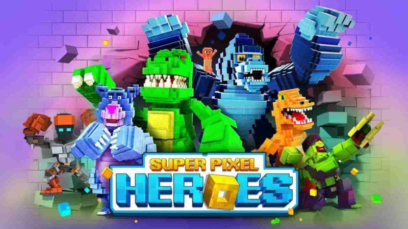 Pixel Heroes : Battle Royal 1.2.209 Mod Apk + Data (Unlimited Money) Latest Version Download