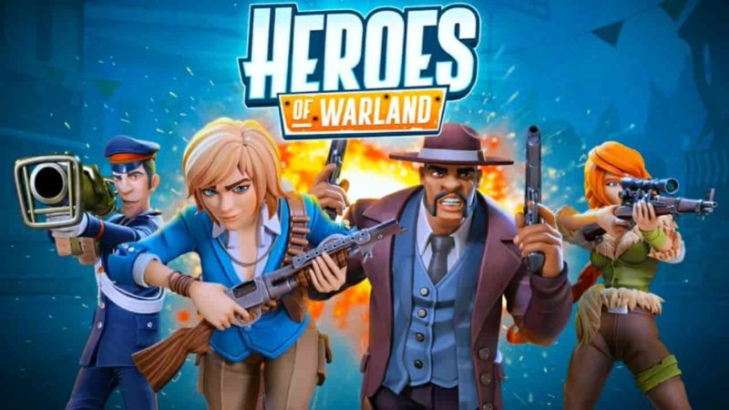 Heroes of Warland 1.4.3 Mod Apk + Data (Unlimited Ammo) Latest Version Download