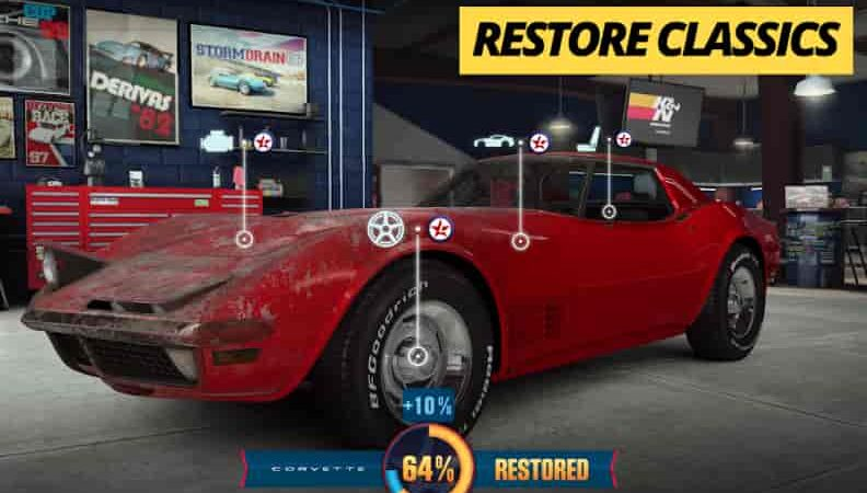 CSR Racing 2 3.0.3 Mod Apk + Data (Unlimited Money) Latest Version Download