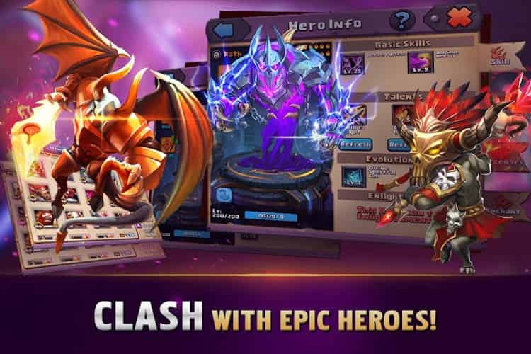 Clash of Lords 2 Mod Apk download