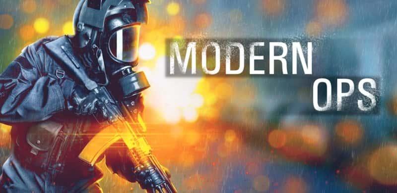 Modern Ops Mod Apk Hack 4.93 (Unlimited Ammo) Latest Version Download
