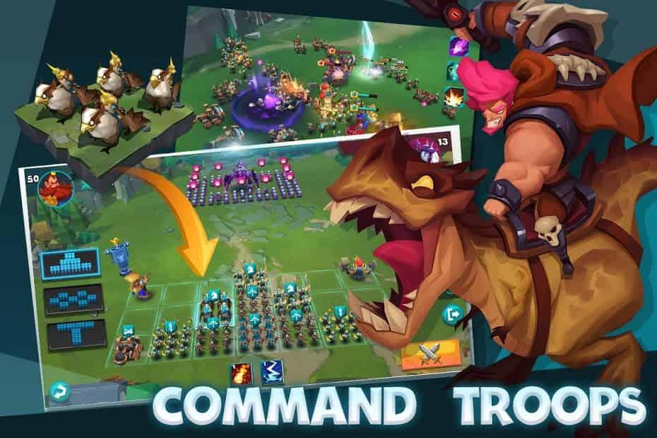 Brave Conquest MOD APK