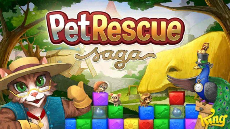 Pet rescue saga 1.268.21 Mod Apk (Lives, Booster) Direct Download