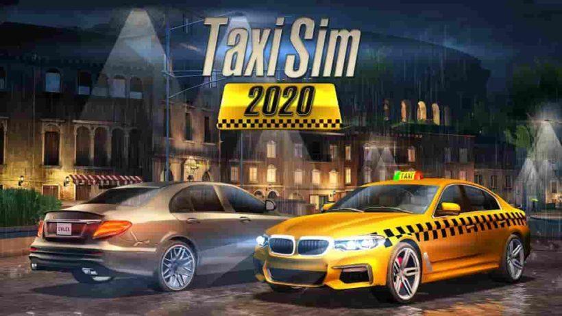 Taxi Sim 2020 1.2.17 Mod Apk + Data (Unlimited Money) Latest Download