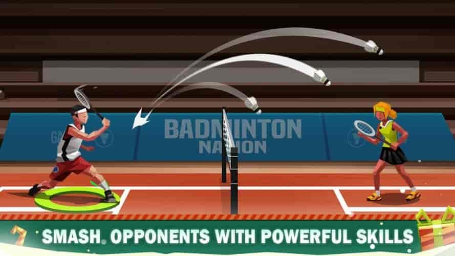 Badminton League Game