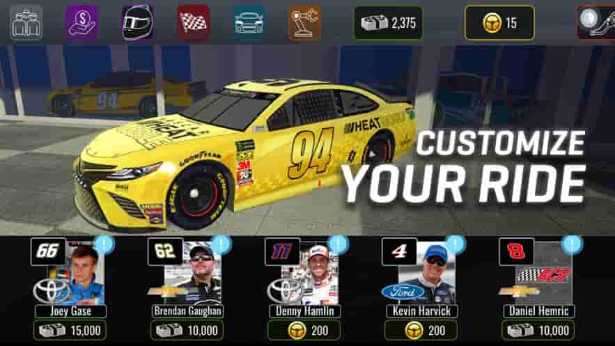NASCAR Heat Mobile Apk