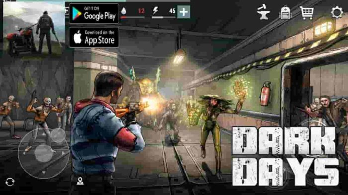 Dark Days 1.2.10 Mod Apk (Infinite Money) Latest Version Download