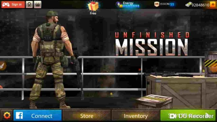 Unfinished Mission 4.2 Mod Apk (Unlimited Money) Latest Download