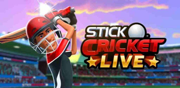 Stick Cricket Live 1.4.9 Mod Apk (Unlimited Money) Latest Version