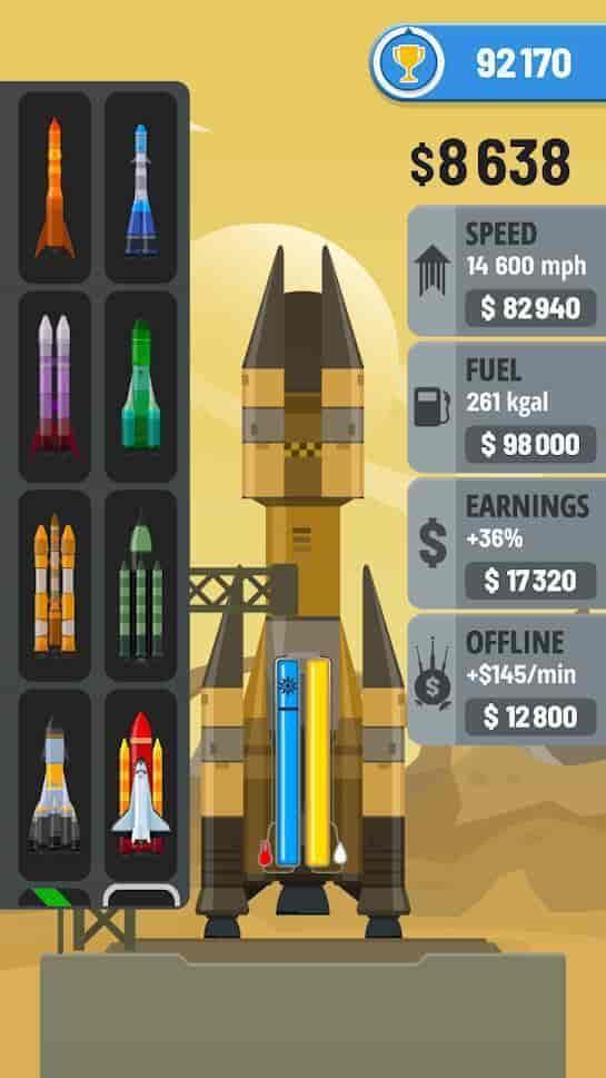 Rocket Sky Apk