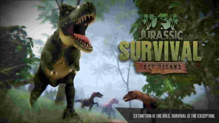Jurassic Survival 2.7.0 Mod Apk (Free Shopping) Latest Download
