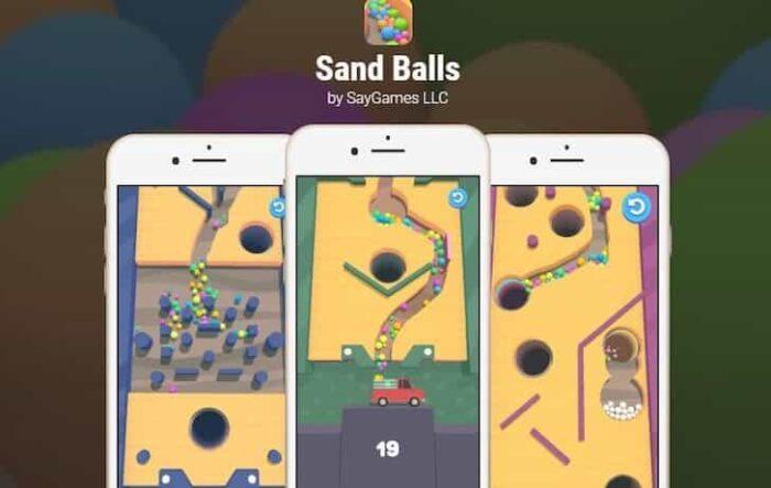 Sand Balls 2.0.2 Mod Apk (Unlimited Diamonds) Latest Download