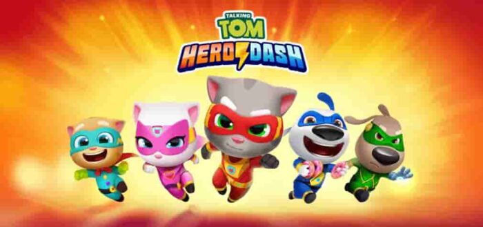 Talking Tom Hero Dash Mod Apk 1.4.0.777 (Unlimited Money) Download