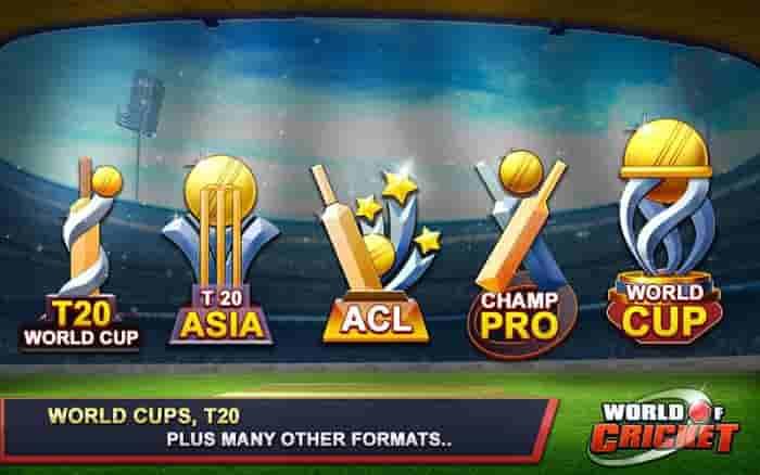 World of Cricket Mod Apk