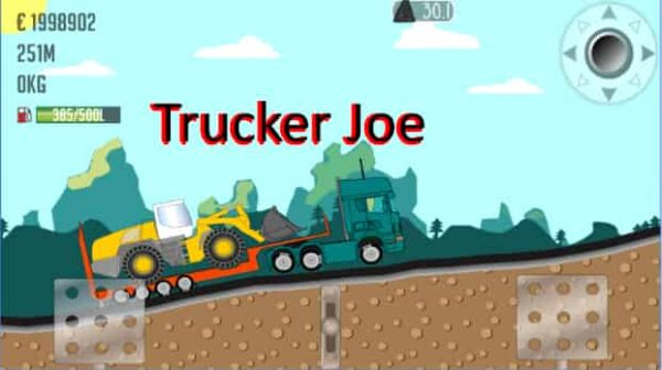 Trucker Joe 0.1.80 Mod Apk (Unlimited Money) Latest Download