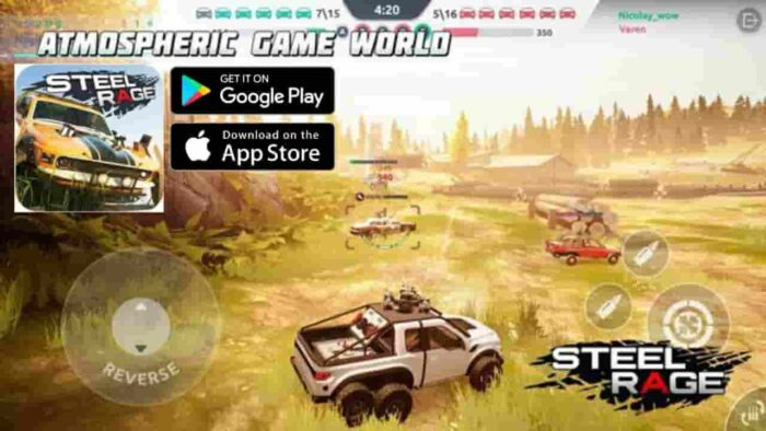 Steel Rage Mod Apk Download 0.175 (Unlimited Ammo) For Android