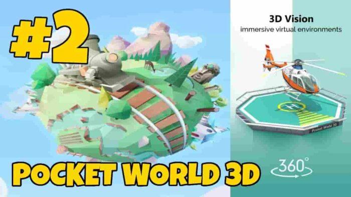 Pocket World 3D Mod APK 1.6.3 (Unlimited Gold) Download