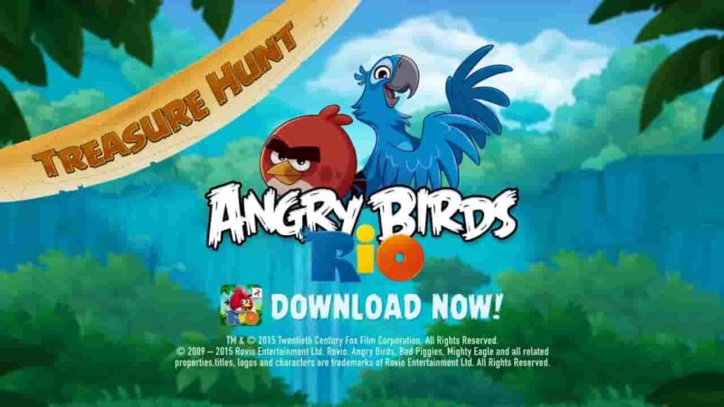 Angry Birds Rio Mod Apk 2.6.13 (Unlimited Coins) Download for Android
