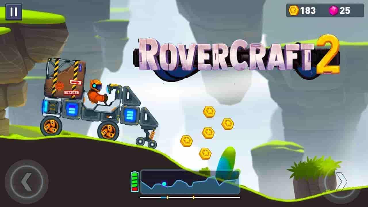 Rovercraft 2 Mod Apk 0.3.0 (Unlimited Money) Free Download
