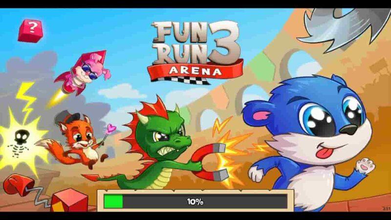 Fun Run 3 MOD APK 3.9.5 (Fast Speed/God Mode) Free Download