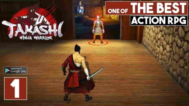 Takashi Ninja Warrior Mod Apk 2.1.28 (Unlimited Gold) Latest Download