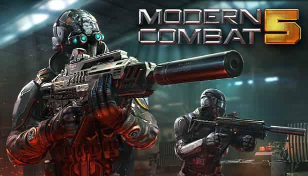 Modern Combat 5 Mod APK 5.7.1c (Adfree/ Blood Infinity) Download
