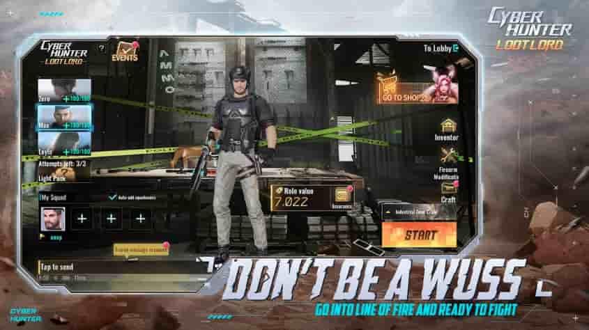 Cyber Hunter Lite Mod Apk