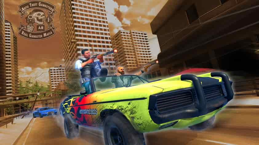 Auto Theft Gangsters MOD APK 1.19 (Unlimited Skills) Latest Download