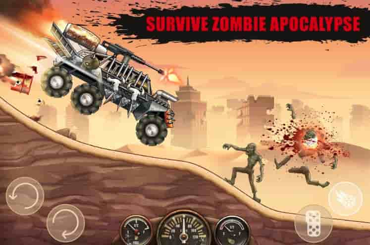 Zombie Hill Racing Mod Apk