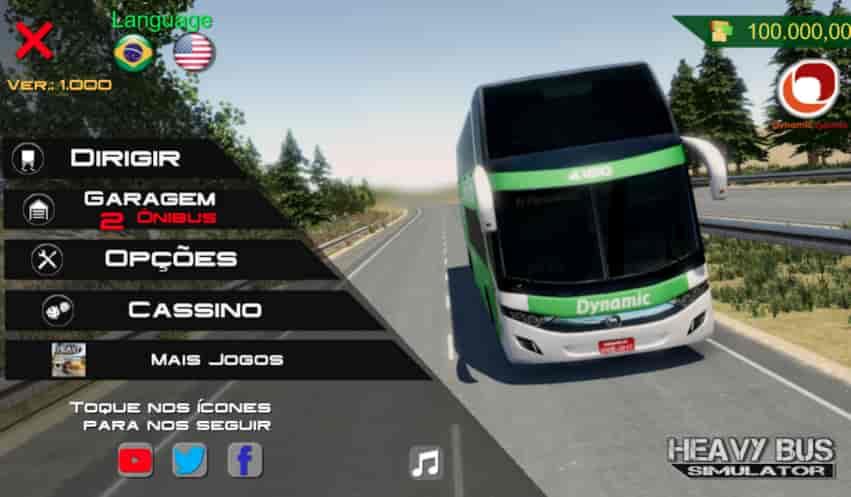 Heavy Bus Simulator Mod Apk + Data 1.088 (Unlimited Money) Download