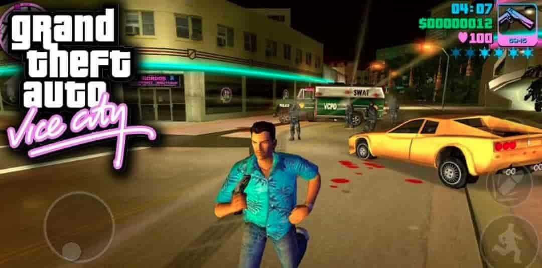 GTA Vice City Mod Apk + Data 1.09 (Unlimited Money) Download