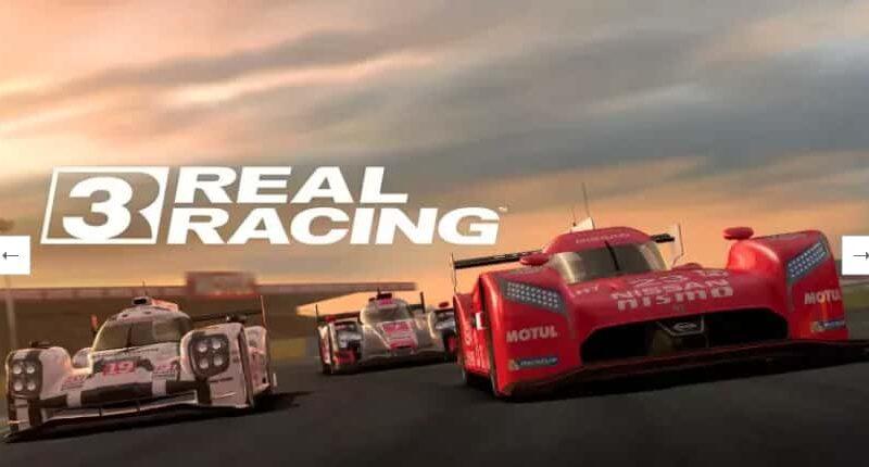 Real Racing 3 Mod Apk + Data (All Unlocked) Download