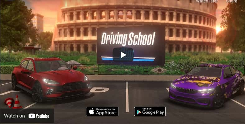 Car Driving School Simulator Mod Apk + Obb (Money) Download