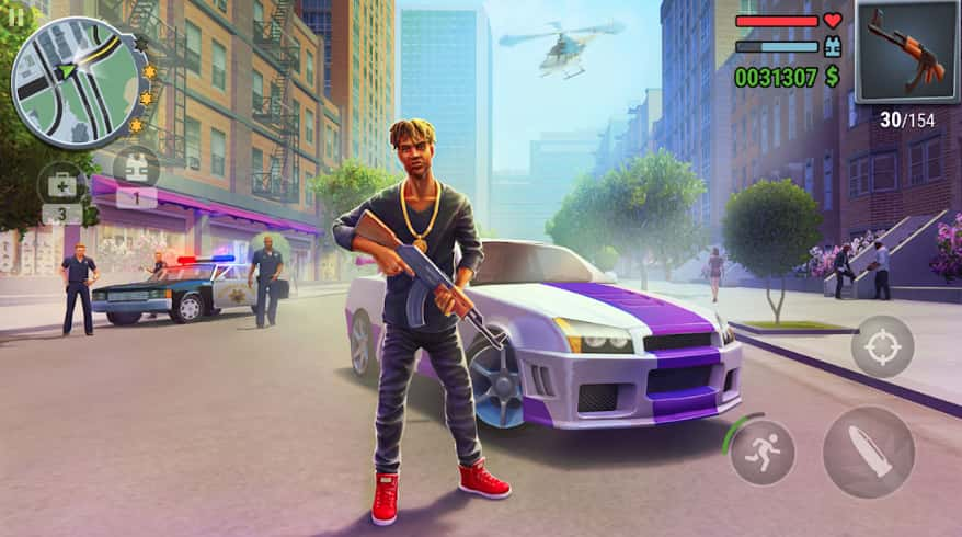 Gangs Town Story Mod Apk