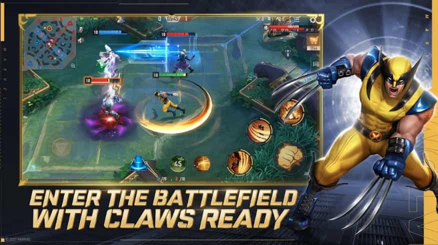MARVEL Super War Mod Apk + Obb 3.13.0 Latest Download